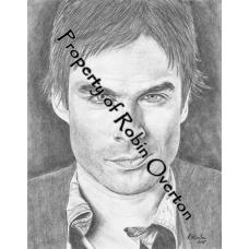 Vampire Diaries-Damon-Ian Somerhalder