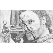 Rick #3 - Original Drawing